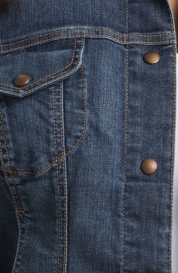 Alternate Image 3  - Lucky Brand 'Adelaide' Denim Jacket (Plus Size)
