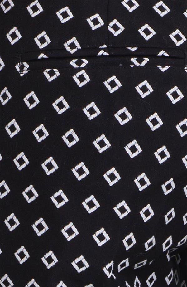 Alternate Image 3  - Vince Camuto Diamond Jacquard Bermuda Shorts