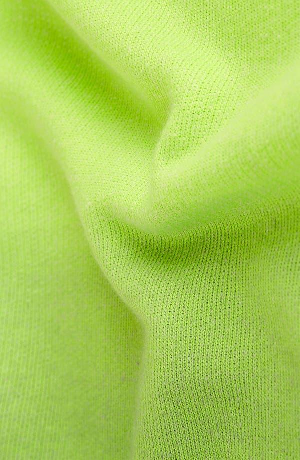 Alternate Image 3  - Topshop Dip Dye Cutout Sweatshirt