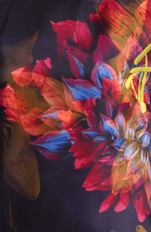 Alternate Image 3  - Max Mara 'Algusto' Print Organza Dress