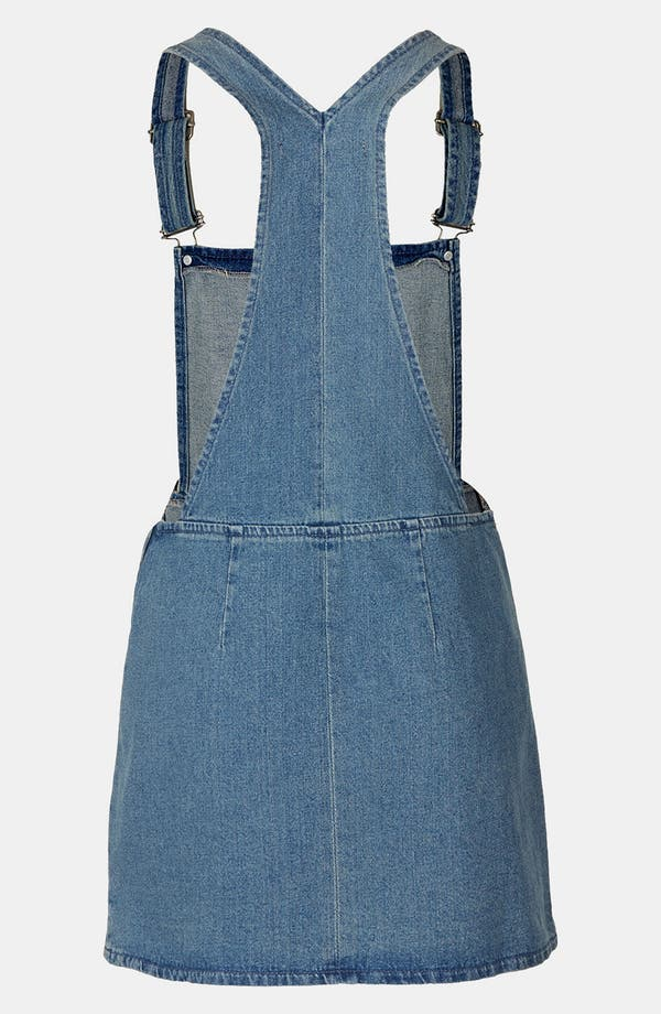 Alternate Image 2  - Topshop Denim Jumper (Petite)