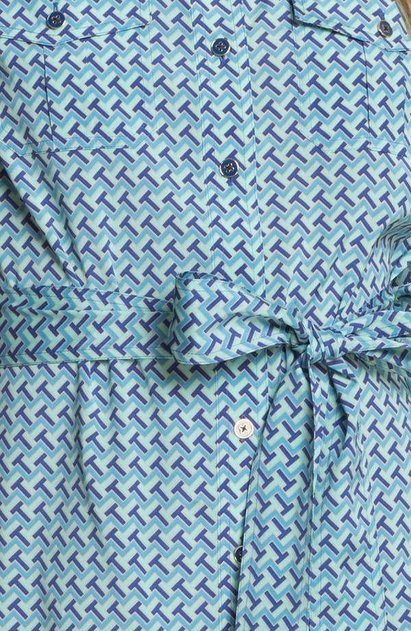 Alternate Image 3  - Tory Burch 'Brigitte' Stretch Silk Shirtdress