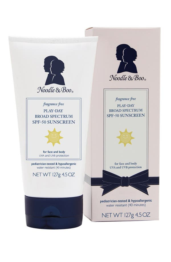 Main Image - Noodle & Boo® 'Play-Day' SPF 50 Sunscreen