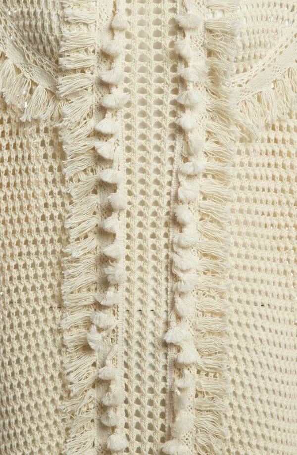 Alternate Image 3  - Leith Crochet Trim Pullover
