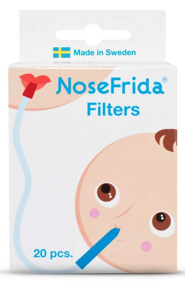 Alternate Image 1 Selected - Fridababy 'NoseFrida®' Nasal Aspirator Replacement Filters (60-Pack)