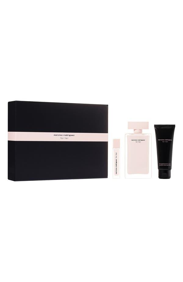 Main Image - Narciso Rodriguez 'For Her' Eau de Parfum Gift Set