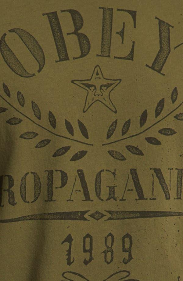 Alternate Image 3  - Obey 'Propaganda Flower Sack' T-Shirt