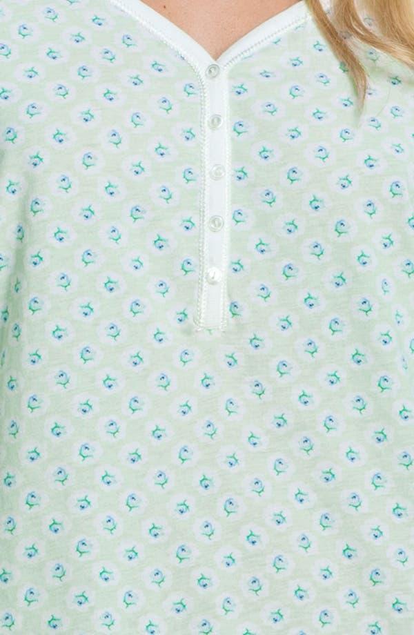 Alternate Image 3  - Carole Hochman Designs 'Vintage Rose' Pajamas