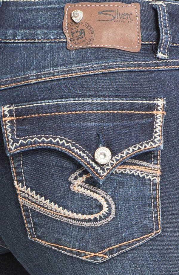 Alternate Image 3  - Silver Jeans Co. 'Dawson' Bootcut Jeans (Juniors Plus)