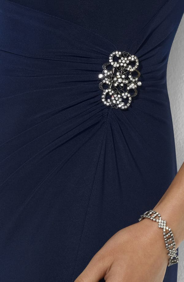 Alternate Image 3  - Lauren Ralph Lauren Embellished Jersey Gown