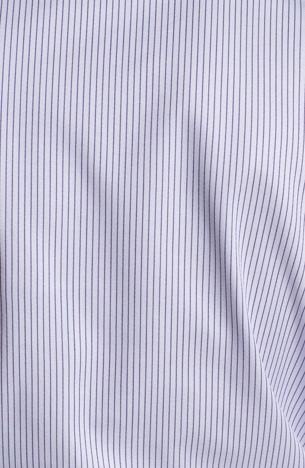 Alternate Image 3  - Armani Collezioni Trim Fit Stripe Cotton Dress Shirt