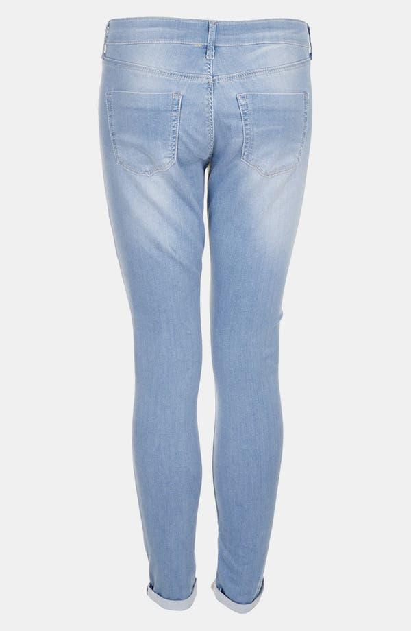 Alternate Image 2  - Topshop 'Bleach Leigh' Skinny Jeans (Petite)