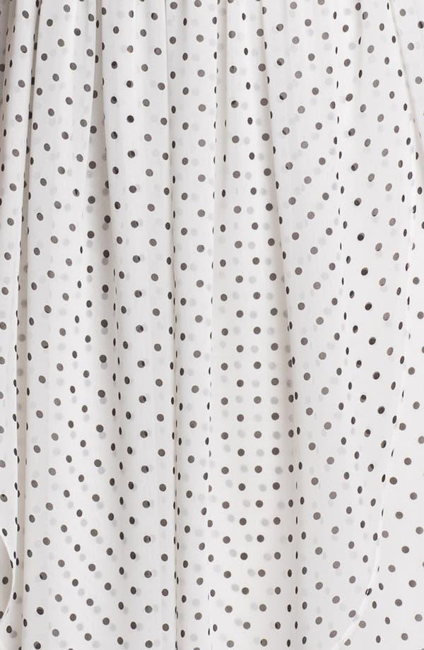 Alternate Image 3  - Jenny Yoo 'Keira' Convertible Dot Chiffon Fit & Flare Dress