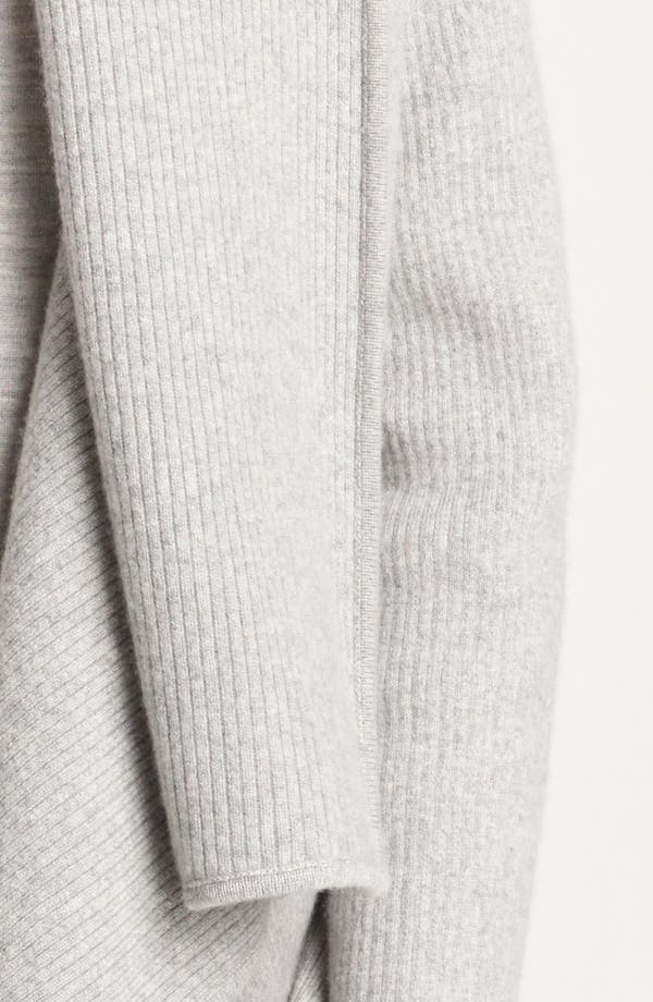 Alternate Image 5  - Donna Karan Collection Hooded Cashmere Cozy