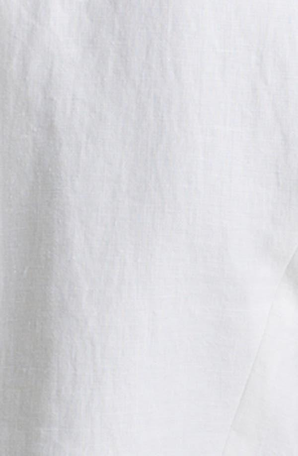 Alternate Image 3  - Gibson Collarless Linen Blazer (Petite)