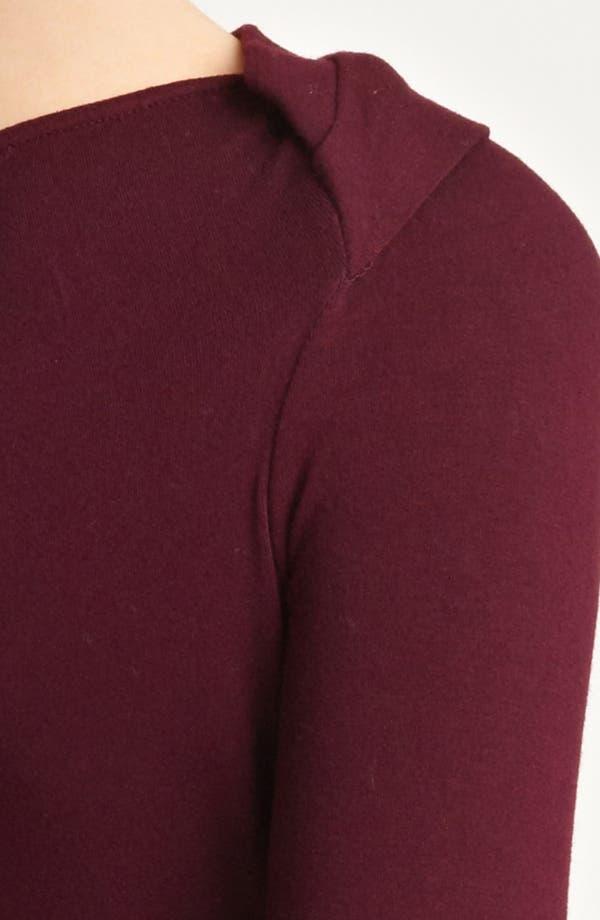 Alternate Image 3  - Donna Karan Collection Slash Jersey Top