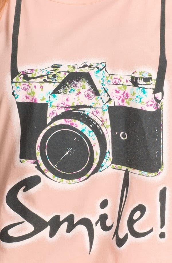 Alternate Image 3  - Pretty Rebel 'Smile' Graphic Cotton Tee (Juniors Plus)