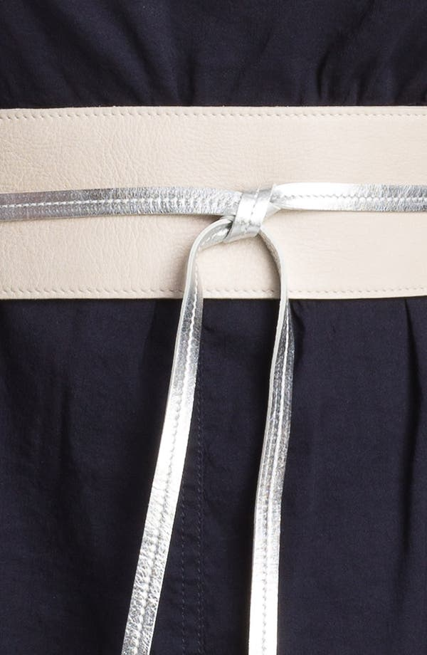 Alternate Image 3  - Eileen Fisher 'Obi' Leather Belt (Plus)