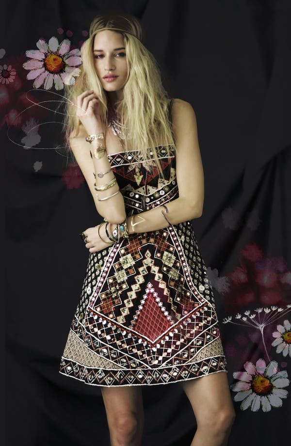 Alternate Image 4  - Free People 'Mirror Maze' Dress