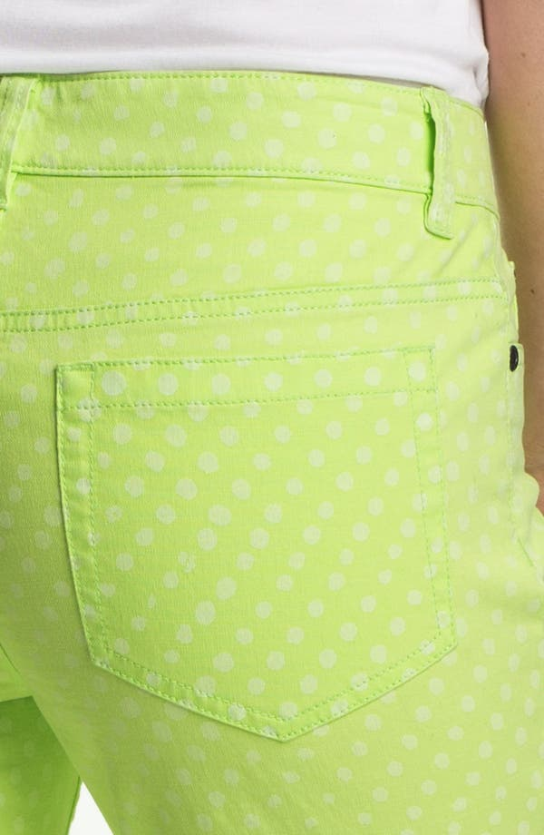 Alternate Image 3  - Two by Vince Camuto Polka Dot Straight Leg Jeans