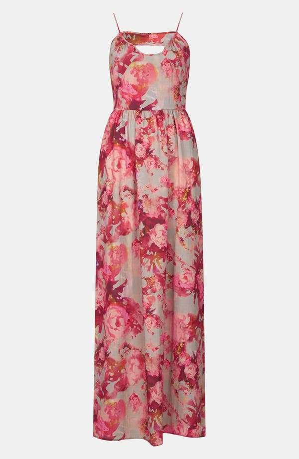 Alternate Image 3  - Topshop 'Blur' Floral Maxi Dress