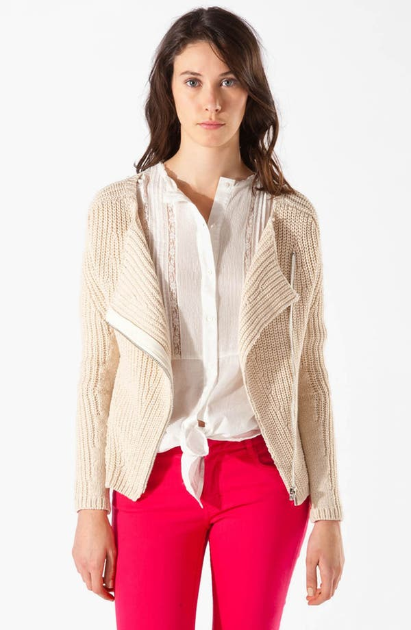Main Image - maje 'Aldente' Double Breasted Cardigan