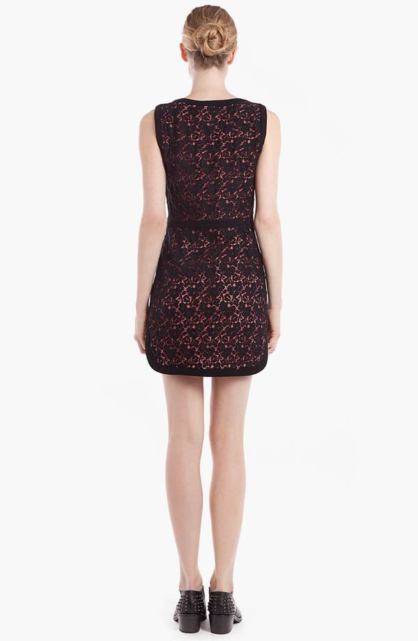 Alternate Image 2  - sandro 'Ravissante' Lace Shift Dress