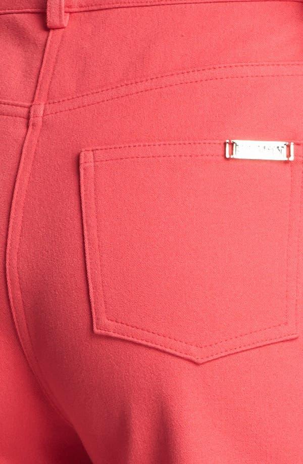 Alternate Image 3  - St. John Yellow Label 'Marie' Straight Leg Twill Pants