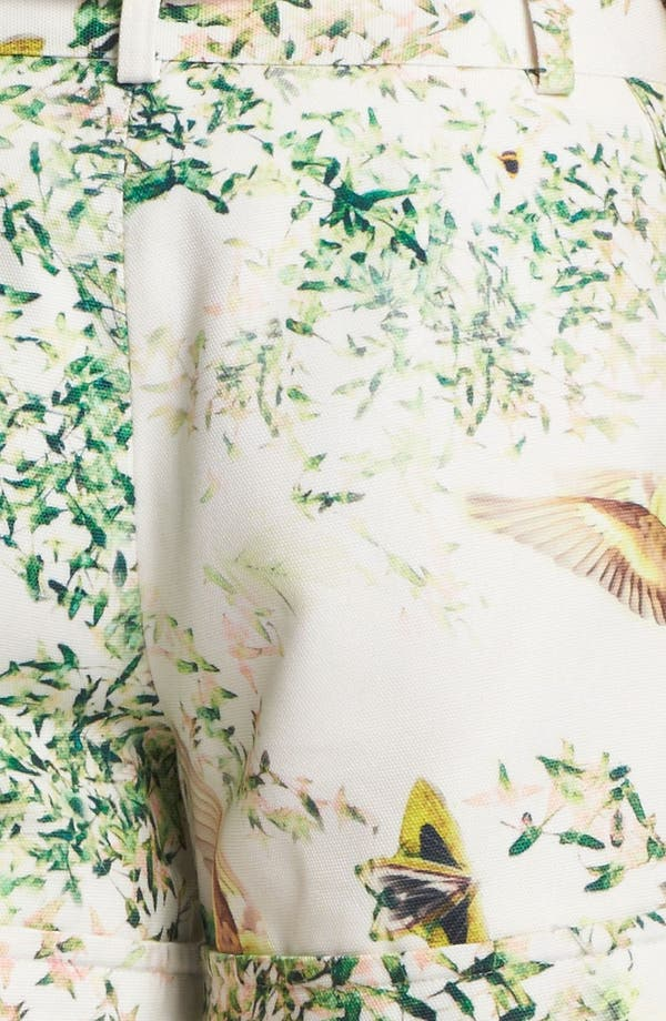Alternate Image 3  - Ted Baker London 'Anora - Dancing Leaves' Print Shorts