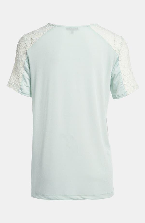 Alternate Image 2  - Tildon Lace Shoulder Blouse