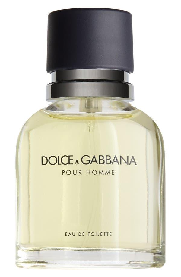 Main Image - Dolce&Gabbana Beauty 'Pour Homme' Eau de Toilette Spray (1.6 oz.)