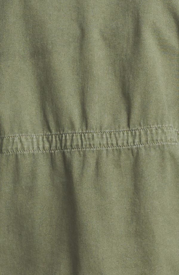 Alternate Image 5  - Current/Elliott 'The Lone Soldier' Coated Sleeve Jacket