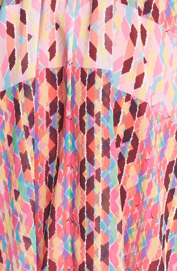 Alternate Image 3  - Jessica Simpson Print Pintucked Chiffon Dress