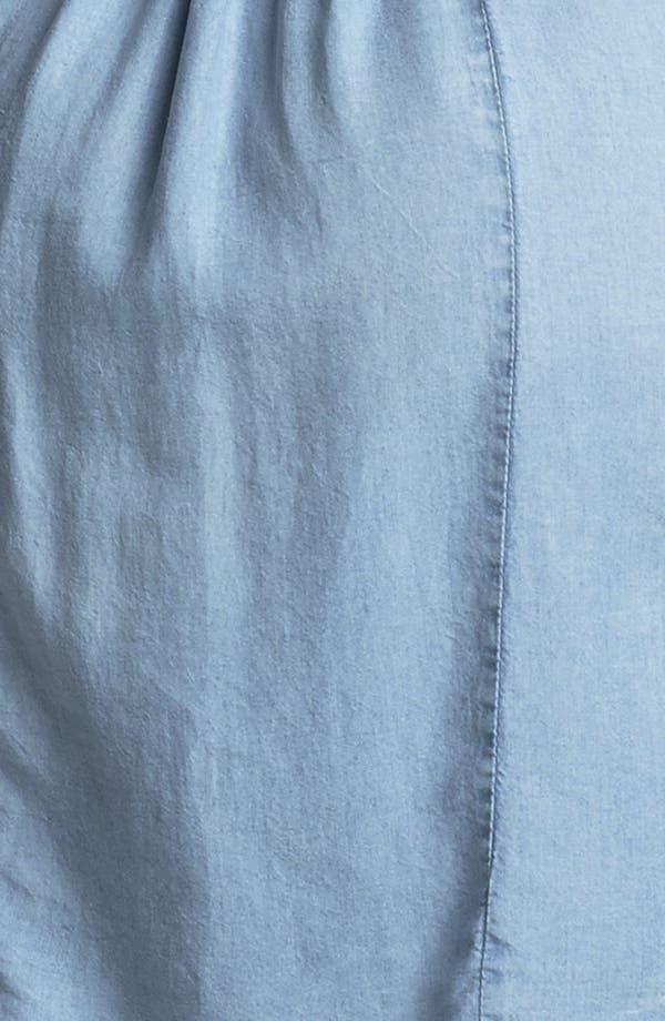 Alternate Image 3  - VELVET HEART 'Audrey' Chambray Shirtdress