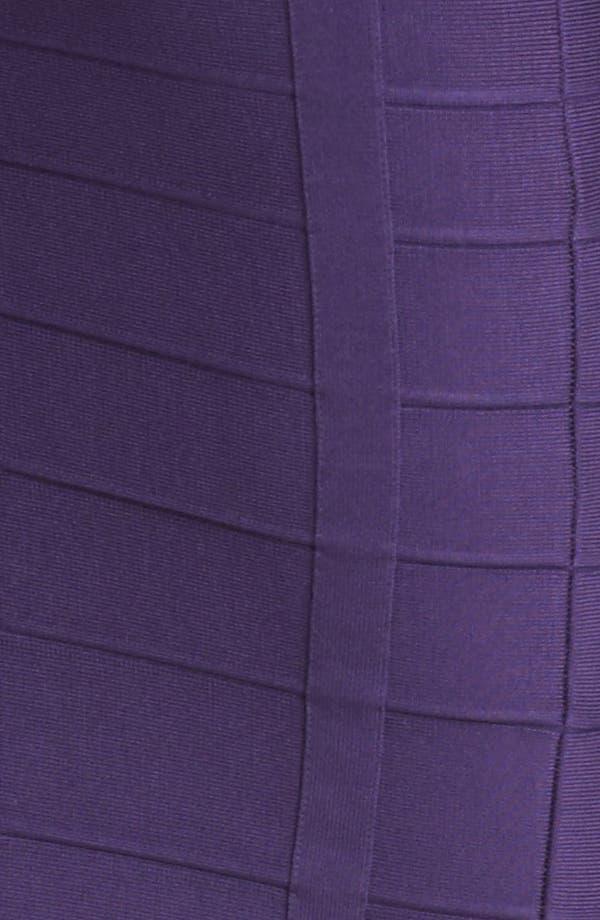 Alternate Image 3  - Herve Leger Spaghetti Strap Bandage Dress
