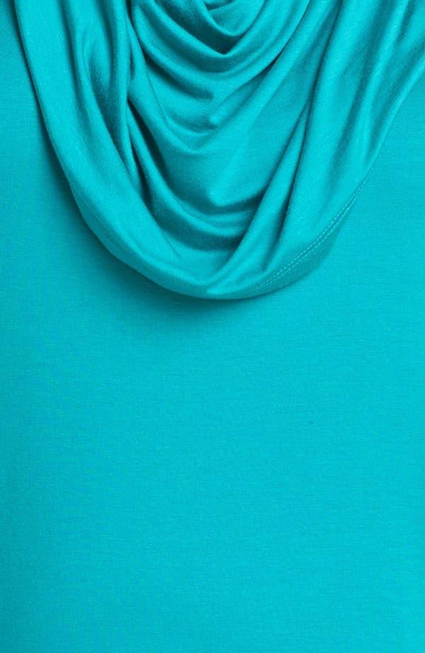 Alternate Image 3  - Karen Kane Sleeveless Cowl Neck Top (Plus Size)