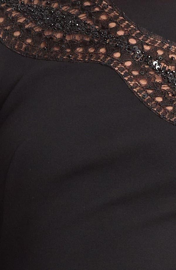 Alternate Image 3  - Emilio Pucci Embroidered Punto Milano Dress
