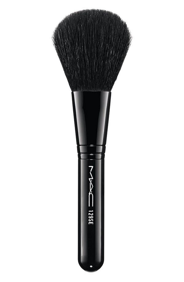 Main Image - Antonio Lopez for M·A·C 129 Blush/Powder Brush & Reusable Pouch
