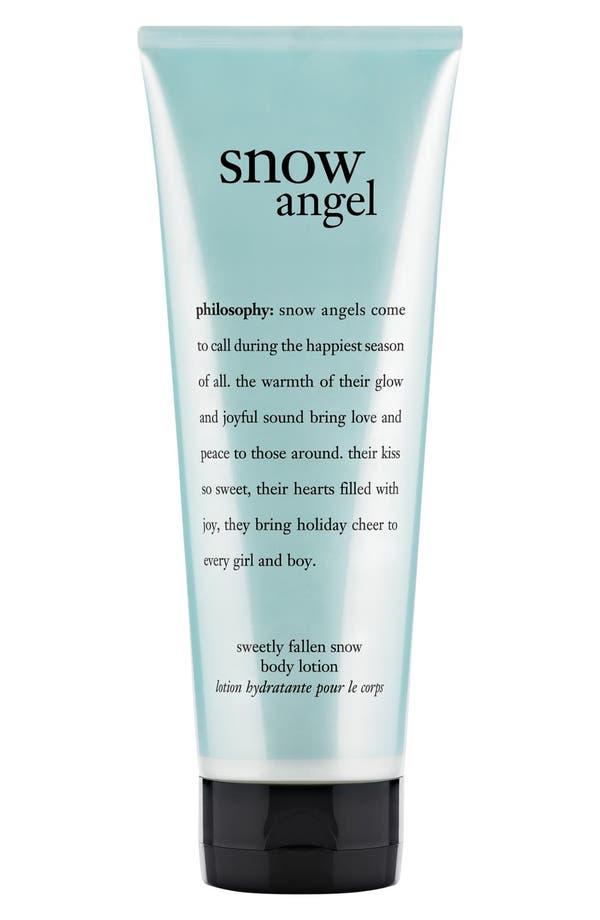 Main Image - philosophy 'snow angel' body lotion