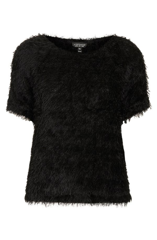 Alternate Image 3  - Topshop Fluffy Tee