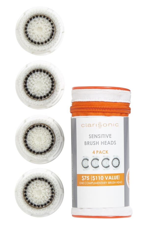 Main Image - CLARISONIC® Sensitive Cleansing Brush Heads (4-Pack) ($110 Value)