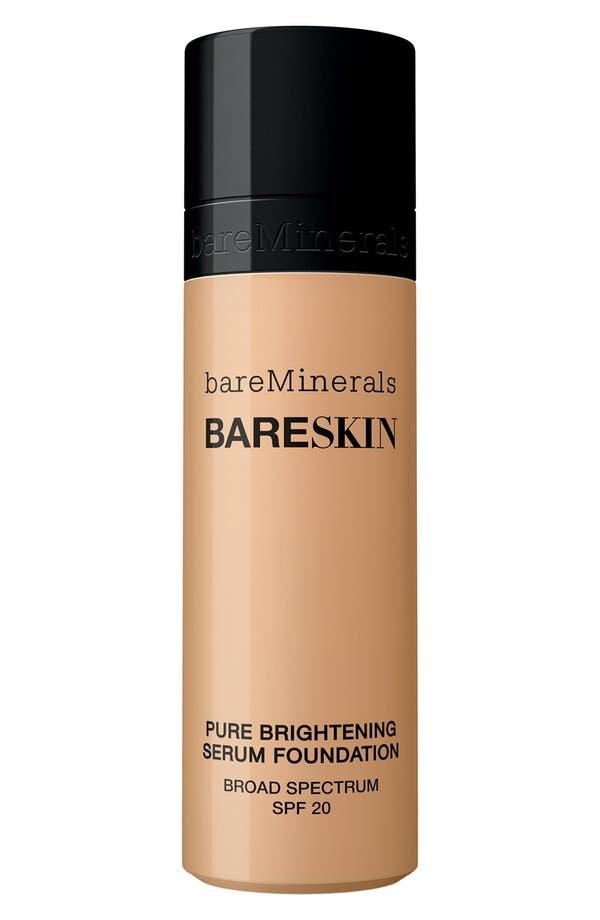 Alternate Image 1 Selected - bareMinerals® bareSkin® Pure Brightening Serum Foundation Broad Spectrum SPF 20