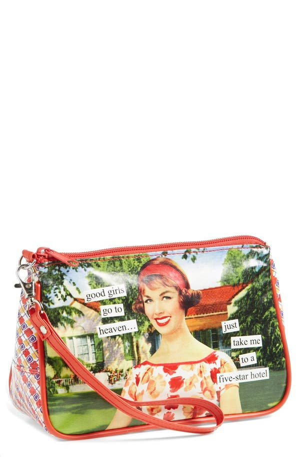 Main Image - Anne Taintor Cosmetics Bag