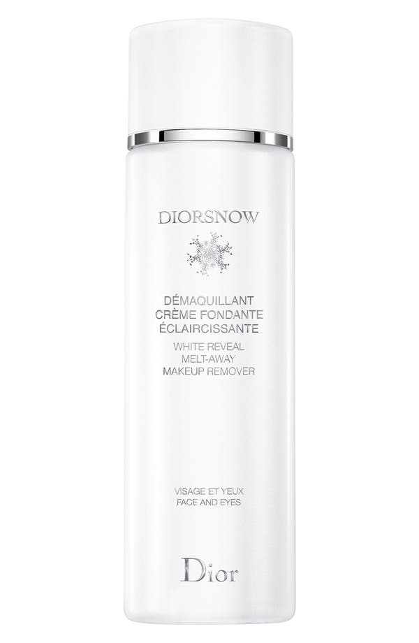 Main Image - Dior 'Diorsnow' White Reveal Melt-Away Makeup Remover