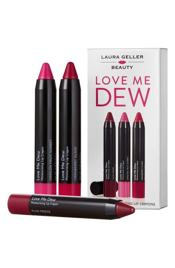 Main Image - Laura Geller Beauty 'Love Me Dew' Lip Trip ($48 Value)