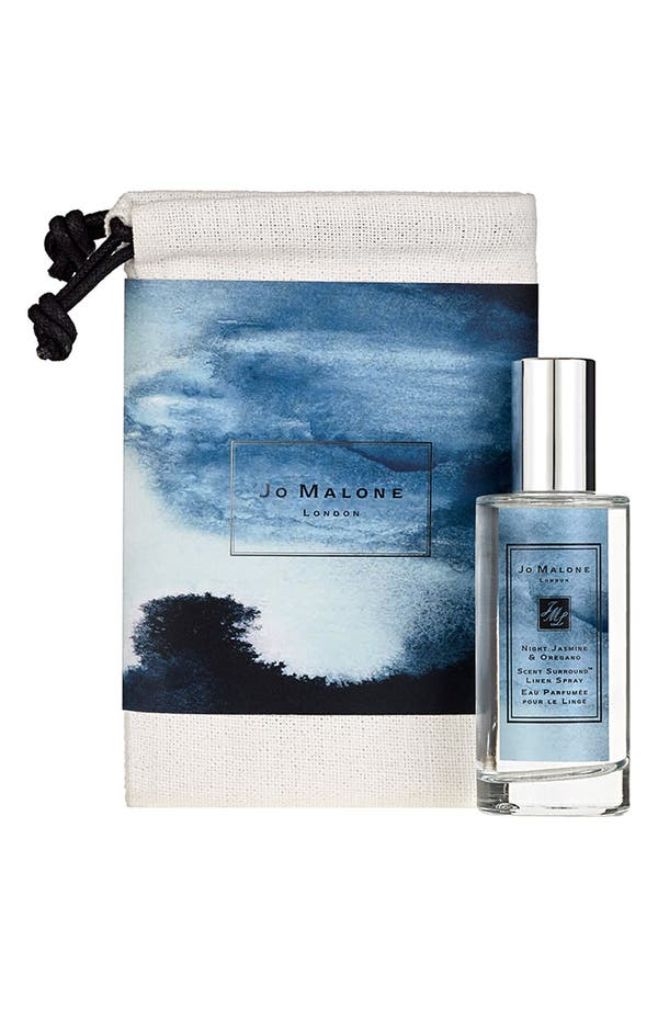 Alternate Image 1 Selected - Jo Malone™ 'My Wanderlust - Night Jasmine & Oregano' Linen Spray & Travel Bag (Limited Edition)