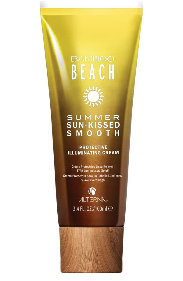 Alternate Image 1 Selected - ALTERNA® 'Bamboo Beach - Summer Sun-Kissed Smooth' Protective Illuminating Cream (Limited Edition)