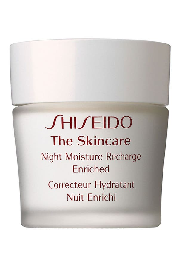 Alternate Image 1 Selected - Shiseido 'The Skincare' Night Moisture Recharge Enriched