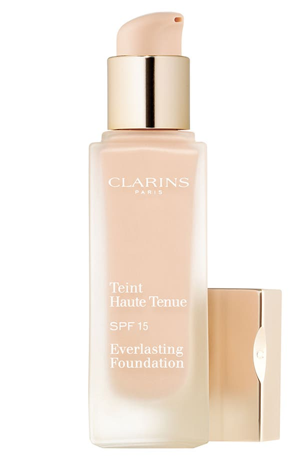 Alternate Image 1 Selected - Clarins 'Everlasting' Foundation SPF 15