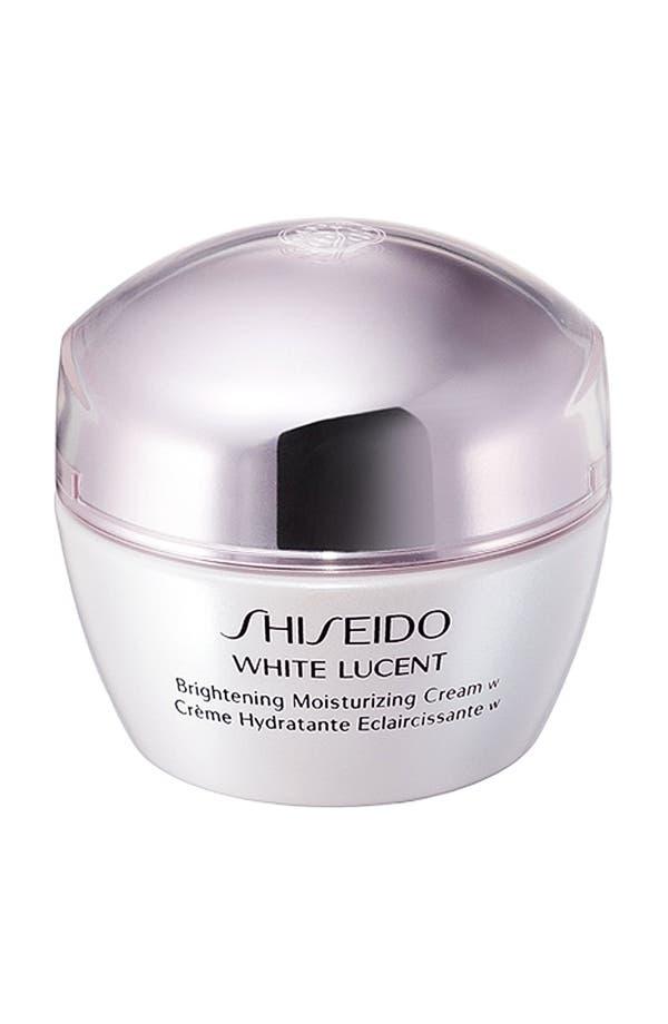 Alternate Image 1 Selected - Shiseido 'White Lucent' Brightening Moisturizing Cream